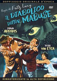 Cover Dvd Il diabolico dottor Mabuse (DVD)