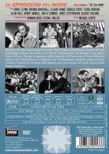 Lo sparviero del mare (DVD) di Michael Curtiz - DVD - 2