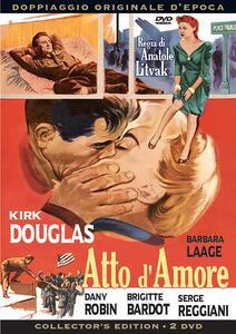 Atto d'amore (2 DVD) di Anatole Litvak - DVD