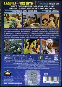 L' aquila del deserto (DVD) di Frederick De Cordova - DVD - 2