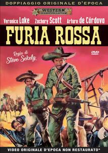 Furia rossa (DVD) di Steve Sekely - DVD