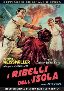 I ribelli dell'isola (DVD) di Spencer Gordon Bennet - DVD