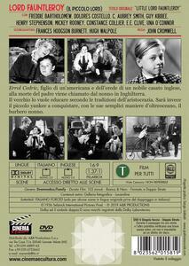 Lord Faunterleroy. Il piccolo Lord (DVD) di John Cromwell - DVD - 2