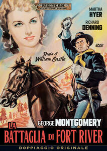 La battaglia di Fort River (DVD) di William Castle - DVD