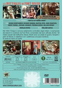 La battaglia di Fort River (DVD) di William Castle - DVD - 2