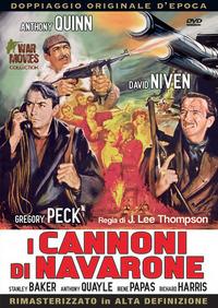 Cover Dvd I cannoni di Navarone (DVD)