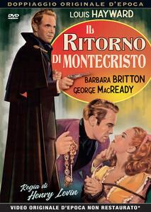 Il ritorno di Montecristo (DVD) di Henry Levin - DVD