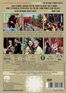 Il ritorno di Montecristo (DVD) di Henry Levin - DVD - 2
