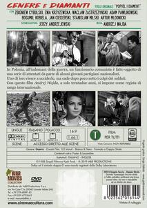 Cenere e diamanti (DVD) di Andrzej Wajda - DVD - 2