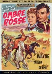 Cover Dvd Ombre rosse (DVD)