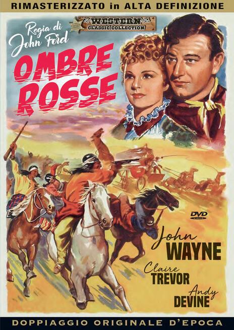 Ombre rosse (DVD) di John Ford - DVD