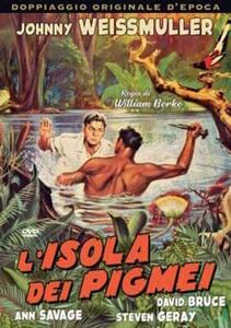 L' isola dei pigmei (DVD) di William Berke - DVD