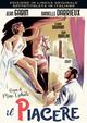 Cover Dvd DVD Il piacere