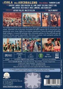 L' isola dell'arcobaleno (DVD) di Ralph Murphy - DVD - 2