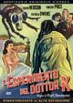 Cover Dvd DVD L'esperimento del dottor K.