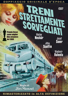 Treni strettamente sorvegliati (DVD) di Jirí Menzel - DVD