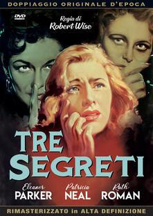 Tre segreti (DVD) di Robert Wise - DVD