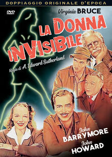 La donna invisibile (DVD) di A. Edward Suterland - DVD
