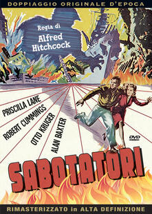Sabotatori (DVD) di Alfred Hitchcock - DVD
