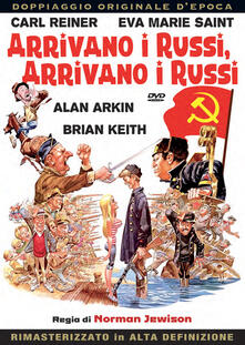 Arrivano i russi, arrivano i russi (DVD) di Norman Jewinson - DVD