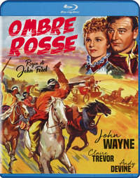 Cover Dvd Ombre rosse (Blu-ray)