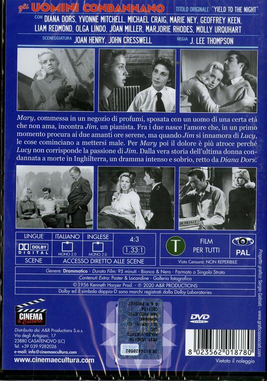 Gli uomini condannano (DVD) di J. Lee Thompson - DVD - 2