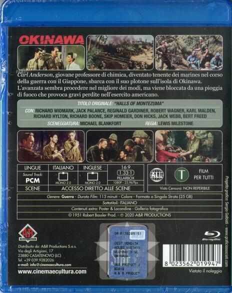Okinawa (Blu-ray) di Lewis Milestone - Blu-ray - 2