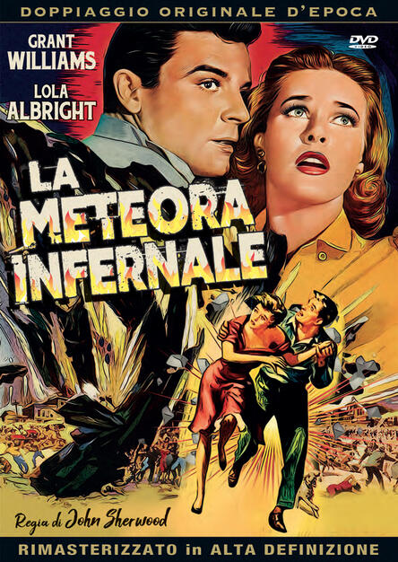 La meteora infernale (DVD) - DVD - Film di John Sherwood Fantastico | IBS