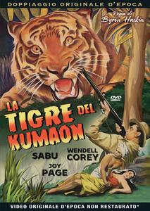 Film La tigre del Kumaon (DVD) Byron Haskin