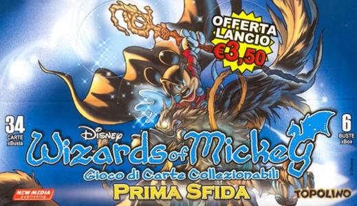 Giocattolo Wizards of Mickey Prima Sfida Buste 6 pz New Media 0