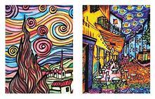 Colorvelvet Ct03 Cartellina Van Gogh