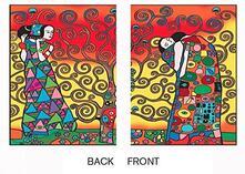 Ct07 Cartellina Klimt L'Albero Della Vita