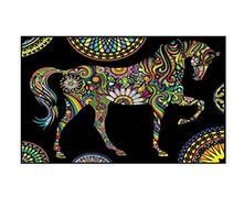 Colorvelvet Ct06 Cartellina Cavallo Mandala
