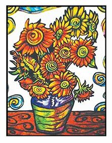 Colorvelvet La06 Disegno 47X35 Cm Van Gogh Girasoli