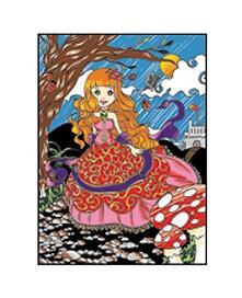 Colorvelvet L064 Disegno 47X35 Cm Principessa