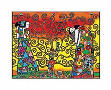 Colorvelvet La01 Disegno 47X35 Cm Klimt L'Albero Della Vita