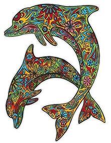 Colorvelvet L102 Disegno 47X35 Cm Delfini