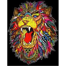 Colorvelvet L104 Disegno 47X35 Cm Ruggito Leone