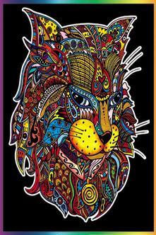 Colorvelvet L113 Disegno 47X35 Cm Lince