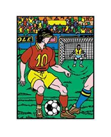 Colorvelvet M009 Disegno 37X28 Cm Calcio
