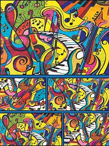 Colorvelvet. Musica, Scatola 40,5X24,5X2 Cm. Box 16