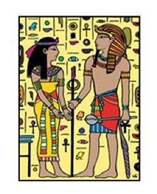 Colorvelvet M040 Disegno 37X28 Cm Egiziani