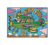 Colorvelvet M019 Disegno 37X28 Cm Aereo