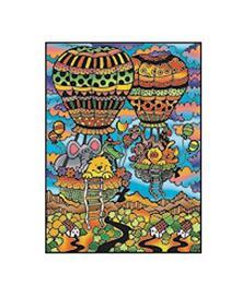 Colorvelvet L007 Disegno 47X35 Cm Mongolfiere