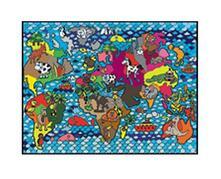 Colorvelvet L015 Disegno 47X35 Cm Atlante