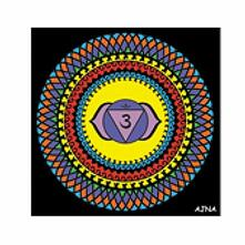 Colorvelvet Ck6 Disegno 32X32 Cm Chakra Ajna