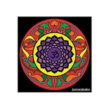 Colorvelvet Ck7 Disegno 32X32 Cm Chakra Sahasrara