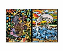 Colorvelvet C07 Raccoglitore ad Anelli Delfini/Pesci