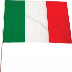 Bandiera Italia 100x70+Asta
