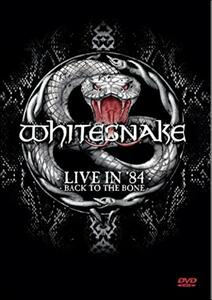 Whitesnake. Live In 84. Back To The Bone - DVD